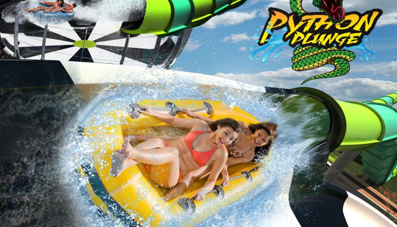 New Spiraling Mega-Slide Coming to Six Flags White Water in 2020