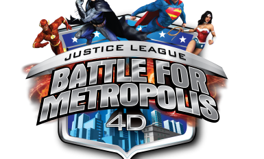 JUSTICE LEAGUE Logo with Characters