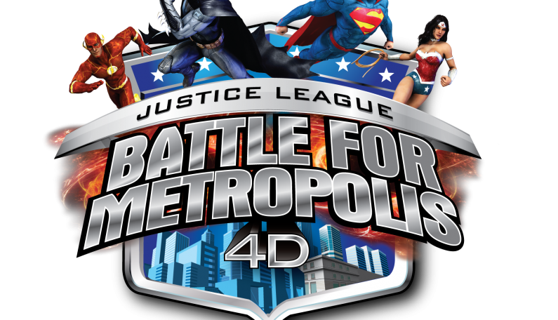 4D Interactive Thrill Ride JUSTICE LEAGUE: Battle for Metropolis Coming in 2017 to Six Flags Over Georgia