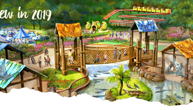Wild Adventures Announced 3-Acres of New Adventures